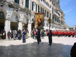 Korfu - Húsvéti felvonulás
